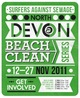 Surfers Against Sewage wants you! For the great North Devon Beach Clean