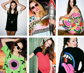 Fashion Fix Gallery: Lazy Oaf graphic print label love