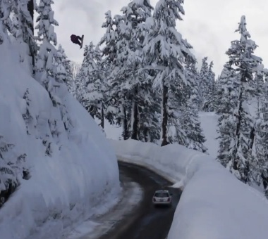 Daily video: Snowboarder Hana Beamans PS webisode #8 - Mind the Mount Baker Road Gap